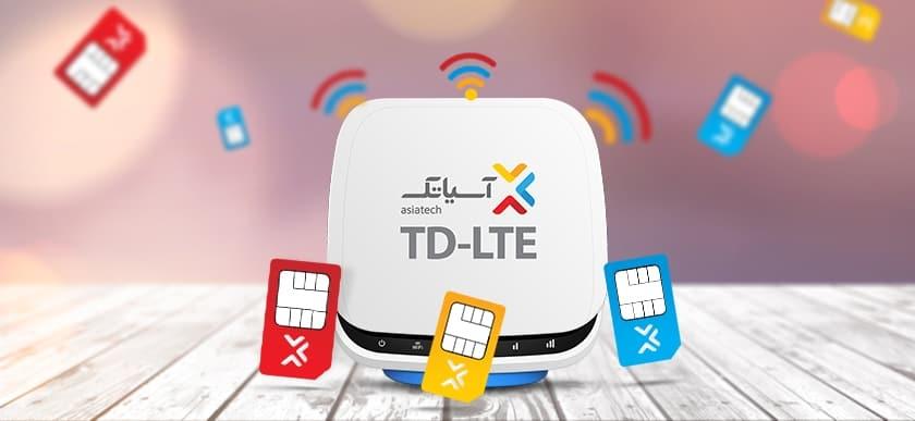 خدمات اینترنت نسل ۴ ثابت (TD-LTE)