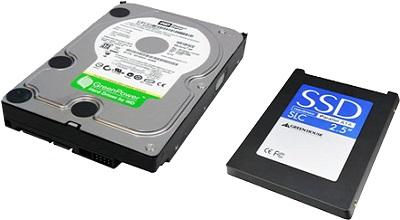 درایو دیسک سخت و انواع حافظه کامپیوتر از نظر ظرفیت و اندازه و حجم